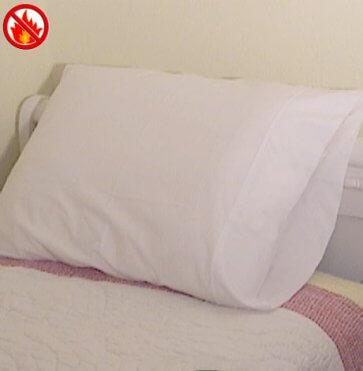 Fire retardant pillowcase