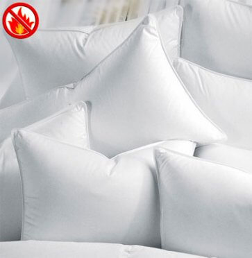 Fire retardant pillow
