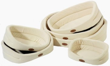Dog Beds S6 - Chenille natural