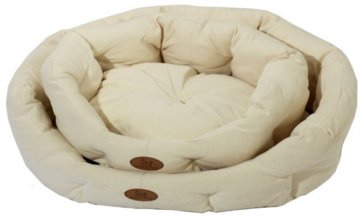 Lounger Dog bed S2 Chenille Natural