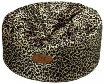 Kitty Kot plush leopard print